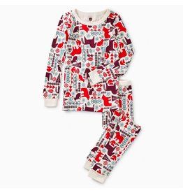 Tea Collection Scandi Animals Pattern Pajamas