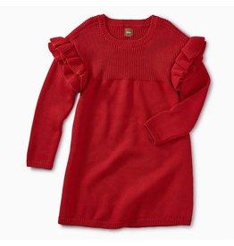 Tea Collection Ruffle Sleeve Sweater Dress