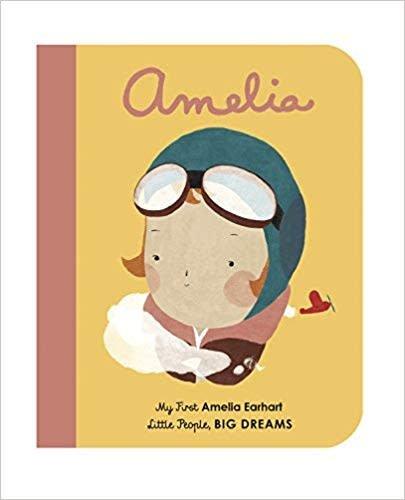 Quatro Publishing Amelia Earhart Board Book