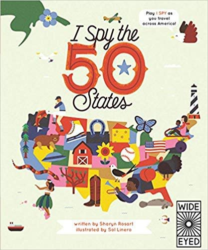 Hachette I Spy the 50 States