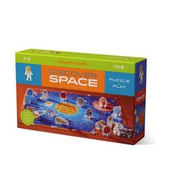 Crocodile Creek Discover Space 100 Pc Puzzle