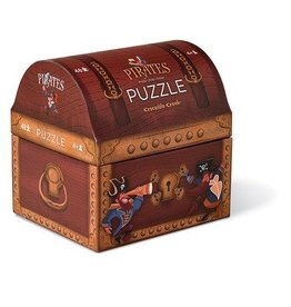 Crocodile Creek Pirates Treasure 48 pc Puzzle