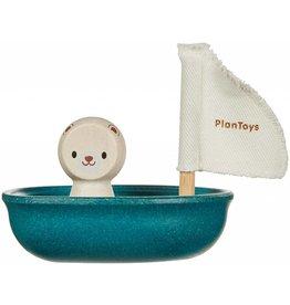 Plan Toys Sailing Boat - Polar Bear