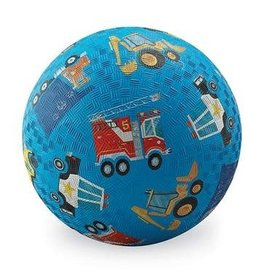 "Crocodile Creek 5"" Playground Ball - Vehicles Blue"