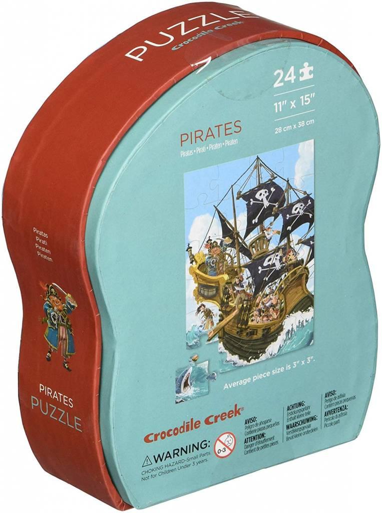 Crocodile Creek Pirates Mini Puzzle 12 pc