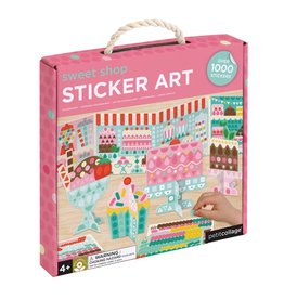 Petit Collage Sweet Shop Sticker Art Kit