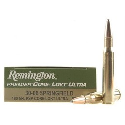Remington Remington Premier Core-Lokt Ultra Bonded PSP 30-06 Springfield 180 Grain