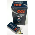CCI CCI 22 LR Standard Velocity 40 Grain Lead Round Nose 500 Cartridges
