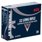 CCI CCI 22 LR AR Tactical 40 Grain Copper-Plated Round Nose 300 Cartridges