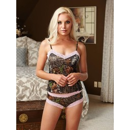 Wilderness Dreams Wilderness Dreams Lace-Trimmed Boy Short Pantie