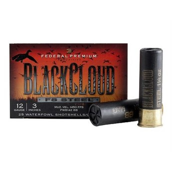 Federal Premium Black Cloud FS Steel Shotgun Shells (25-Rounds)