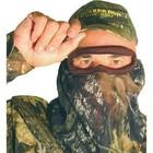 Quaker Boy Quaker Boy Elite 3/4 Bandit Camo Facemask