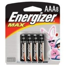 Energizer AAA Batteries (8-Pack)