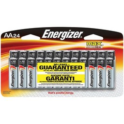Energizer AA Batteries (24-Pack)