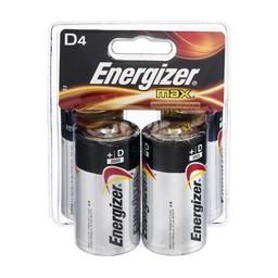 Energizer D Batteries (4-Pack)