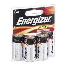 Energizer C Batteries (4-Pack)