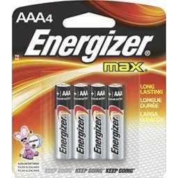 Energizer AAA Batteries (4-Pack)