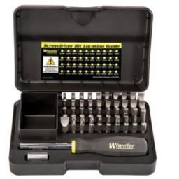 Wheeler 43-Piece Professional Gunsmithing Screwdriver Set