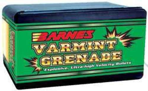 Barnes Varmint Grenade Bullets 6mm 62 Grain HP FB