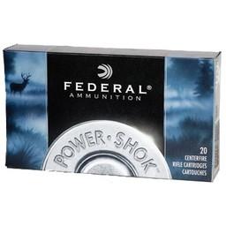 Federal Power-Shok Centerfire Ammunition (20-Rounds)