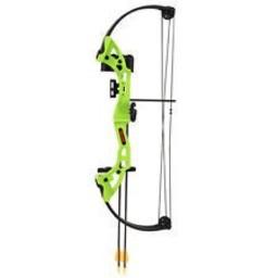 Bear Archery RH Youth Brave Compound Archery Set