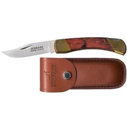 "Uncle Henry Bear Paw Lockback 5"" Knife w/ Sheath"