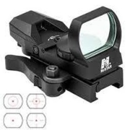 NcStar Red 4 Reticle Reflex Sight w/ Quick-Release Mount