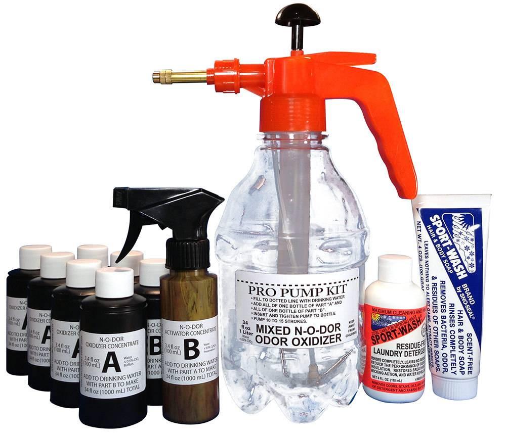 Atsko N-O-Dor Oxidizer Pro Pump Kit Odour Control Solution