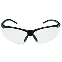 Champion Ballistic Shooting Glasses Half Frame Flex Wire/Mirror Lens