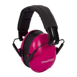 Champion Passive Slim Earmuffs (Pink)