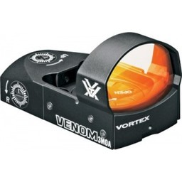 Vortex Venom Red Dot w/ Picatinny Rail Mount (3 Bright Red MOA)