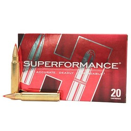 Hornady Superformance Centerfire Ammunition (20-Rounds)