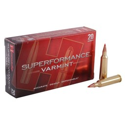 Hornady Superformance Varmint Centerfire Ammunition