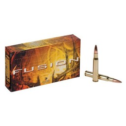 Federal Fusion Centerfire Ammunition (20-Rounds)