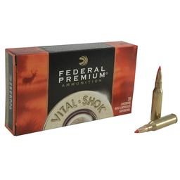 Federal Premium Vital-Shok Centerfire Ammunition (20-Rounds)