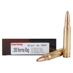 Norma Norma ORYX Centerfire Ammunition (20-Rounds)