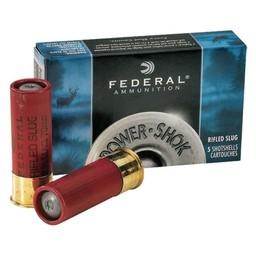 Federal Power-Shok Maximum Rifled Slug HP