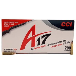 CCI 17 HMR Varmint - A17 Optimized 17 Grain