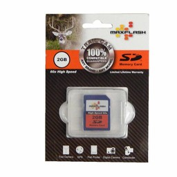 MaxFlash Trail Cam Memory Cards 2GB