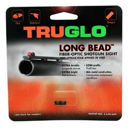 TRUGLO Long Bead Fiber-Optic Shotgun Sight