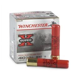"Winchester Super-X Rifled Slug Hollow Point .410 Gauge 2 1/2"" 1/5oz. (5-Rounds)"