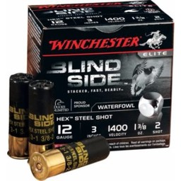 Winchester Blind Side Hex Steel Shot (25-Rounds)