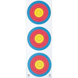 Maple Leaf 3-Spot Archery Target