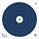 "NFAA NFAA Five Star Blue Target (17"" x 17"")"