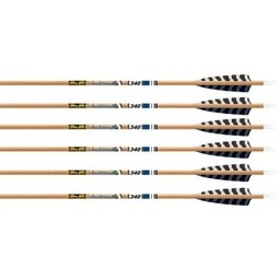 Gold Tip Traditional 600 Fletched Arrows