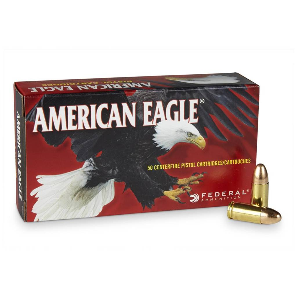 American Eagle American Eagle 9mm 115 Grain FMJ 50 Rounds