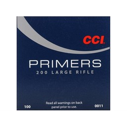CCI Large Rifle Primers No. 200 (100-Count)