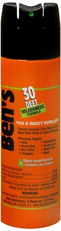 Bens 30 Wilderness Insect / Tick 177ml Aerosol Spray