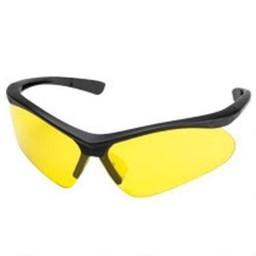 Champion Ballistic Shooting Glasses (Black Frame/Yellow Lens)
