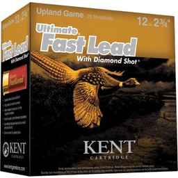 Kent Kent Ultimate Fast Lead w/ Diamond Shot Shotgun Shells (25-Count)